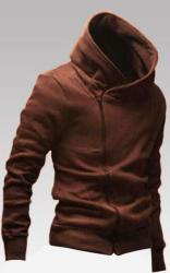 Men's Side-Zip Cowl Neck Jacket