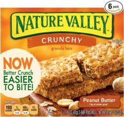 72 Nature Valley Crunchy Granola Bars