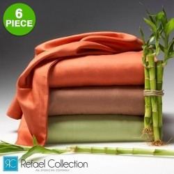 6-Piece Bamboo Bed Sheet Set from $13