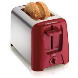 Hamilton Beach Cool Wall 2-Slice Toaster for $15