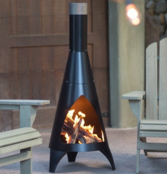 Red Ember Alto Steel Chiminea $80