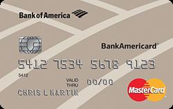 BankAmericard(R) Credit Card: 0% Intro APR offer