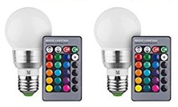 Retro LED Color Changing Bulb 2-Pack for $10