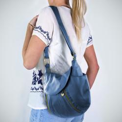 Travelon Anti-Theft Front Zip Hobo Bag for $16