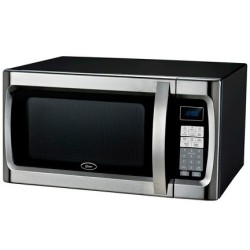 Oster 1.3-Cu. Ft. 1,100W Microwave Oven for $65