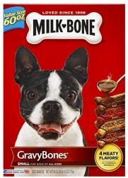 4 Milk-Bone Gravybones 60-oz. Boxes for $15