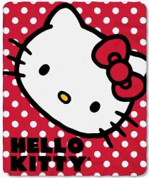 """Sanrio Hello Kitty 50"""" x 60"""" Fleece Throw for $9"""