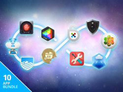 World's 1st Lifetime 10-App Bundle for Mac for $49