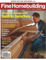 Fine Homebuilding 1-Year Subscription for $10