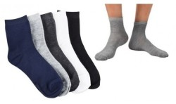 Unisex Bamboo Compression Socks 5-Pack