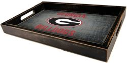 NCAA Distressed Wooden Serving Tray
