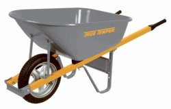 Ames 6-Cu. Ft. Landscaping Wheelbarrow for $70