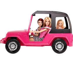 Barbie Sisters Destination Jeep for $9.99 - $11.99