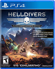 Helldivers Super-Earth Ultimate Edition for PS4