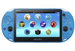 PlayStation Vita System in Aqua Blue