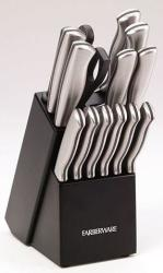 Farberware 15-Pc. Stamped Stainless Steel Cutlery Set