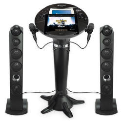 The Singing Machine ISM1060BT.COM Digital Pedestal Karaoke System