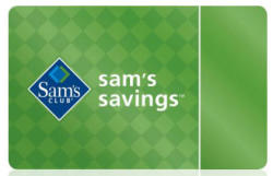 Sam's Savings 1-Year Club Membership