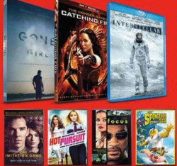 Movies Priced $9.99 - $15, Select Titles On Blu-Ray or DVD