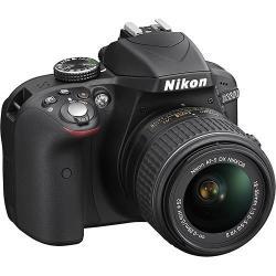Nikon D3300 DSLR Camera w/ 18-55mm Lens + WiFi Adapter & 32GB Card