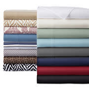 Home Expressions Microfiber Solid or Print Sheet Set