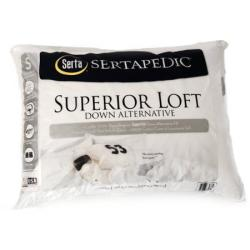 Serta Sertapedic Superior Loft Down Alternative Pillow
