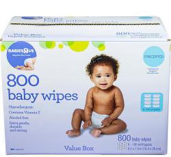 Babies R Us 800-Ct. Wipes