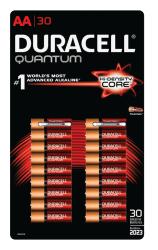 Duracell Quantum AA Batteries 30-Pk.