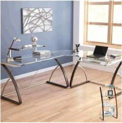Realspace Merido 3-Pc. L-Shaped Desk Collection