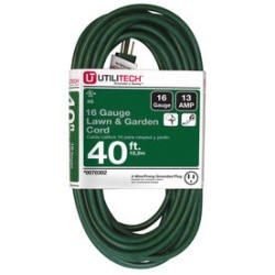 Utilitech 40-Ft. 16-Ga. Outdoor Extension Cord