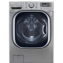 LG WM4270HVA 4.5-Cu. Ft. HE Washer in Gaphite Steel w/ Steam Cycle