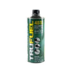 Free Trufuel 32-Fl. Oz. 40:1 Pre-Mixed 2-Cycle Fuel w/ Troy-Bilt Jet 27cc 2-Cycle Heavy Duty Gas Leaf Blower