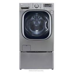 LG WM4270HVA 4.5-Cu. Ft. Front-Load Steam Washer in Graphite Steel