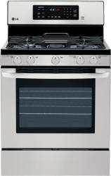 LG LRG3081ST Gas Convection Range in Stainless Steel