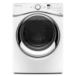 Whirlpool WED95HEDW 7.4-Cu. Ft. Duet Steam Electric Dryer