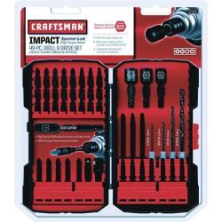 Craftsman 49-Pc. Drill & Drive Bit Set