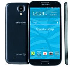Samsung Galaxy S4 LTE Phone + 100% Free Talk, Text, & Data From FreedomPop