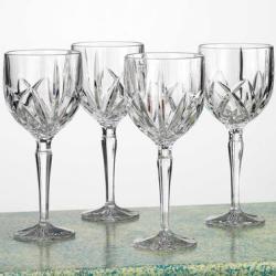 Waterford Crystal Brookside 4-Pc. Goblet Set