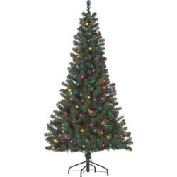 6-Ft. Pre-Lit Christmas Tree in Multi