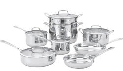 Cuisinart 13-Pc. Cookware Set in Stainless Steel