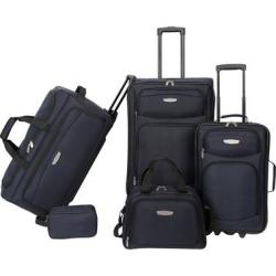 American Airlines 5-Pc. Luggage Set in Burgundy or Navy