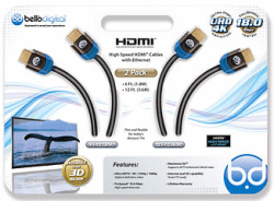Bell'O Digital HDMI Cables