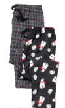 Berkley Jensen Men's Flannel Pants 2-Pk.