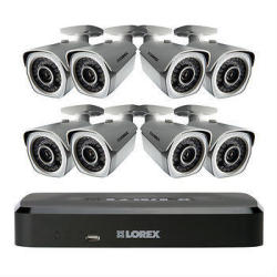 Lorex 8-Channel 8-Camera 2TB HDD NVR Security System