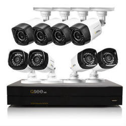 Q-See 16-Ch. 8-Camera 2TB HDD DVR Security System