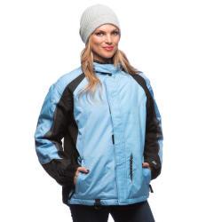 Mossi Women's Serenity Winter Jacket in Light Blue/Black