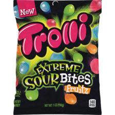 Trolli Extreme Sour Bites Fruitz 7-Oz. + $2 ExtraBucks