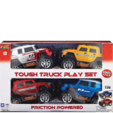 Tough Truck Play Set 4-Pk.