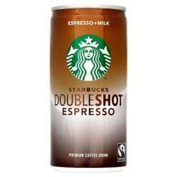 Starbucks DoubleShot 6.5-Oz. + $1.50 ExtraBucks