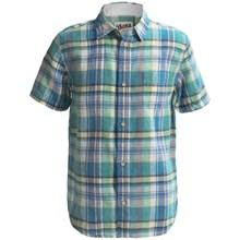 J.A.C.H.S Madras Plaid Shirt